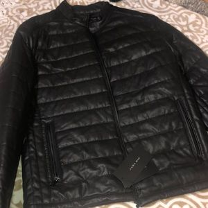 ZARA MAN BLACK JACKET